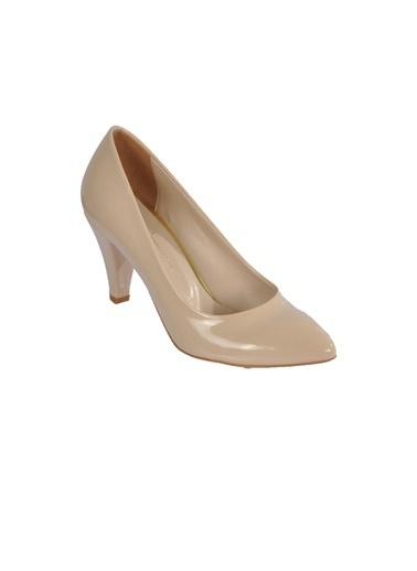 Esstii 102 Ten Kadın Topuklu Ayakkabı Ten